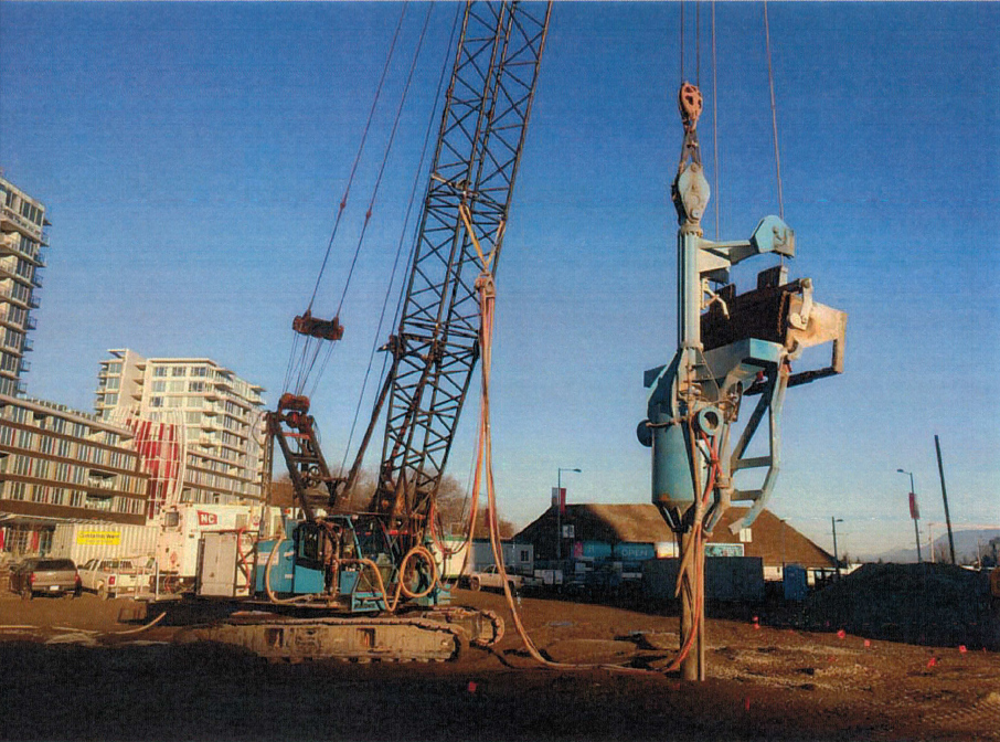 Vancouver Piledriving installs 845 stone columns to 12.5 m depth with BC1 bottom feed rig