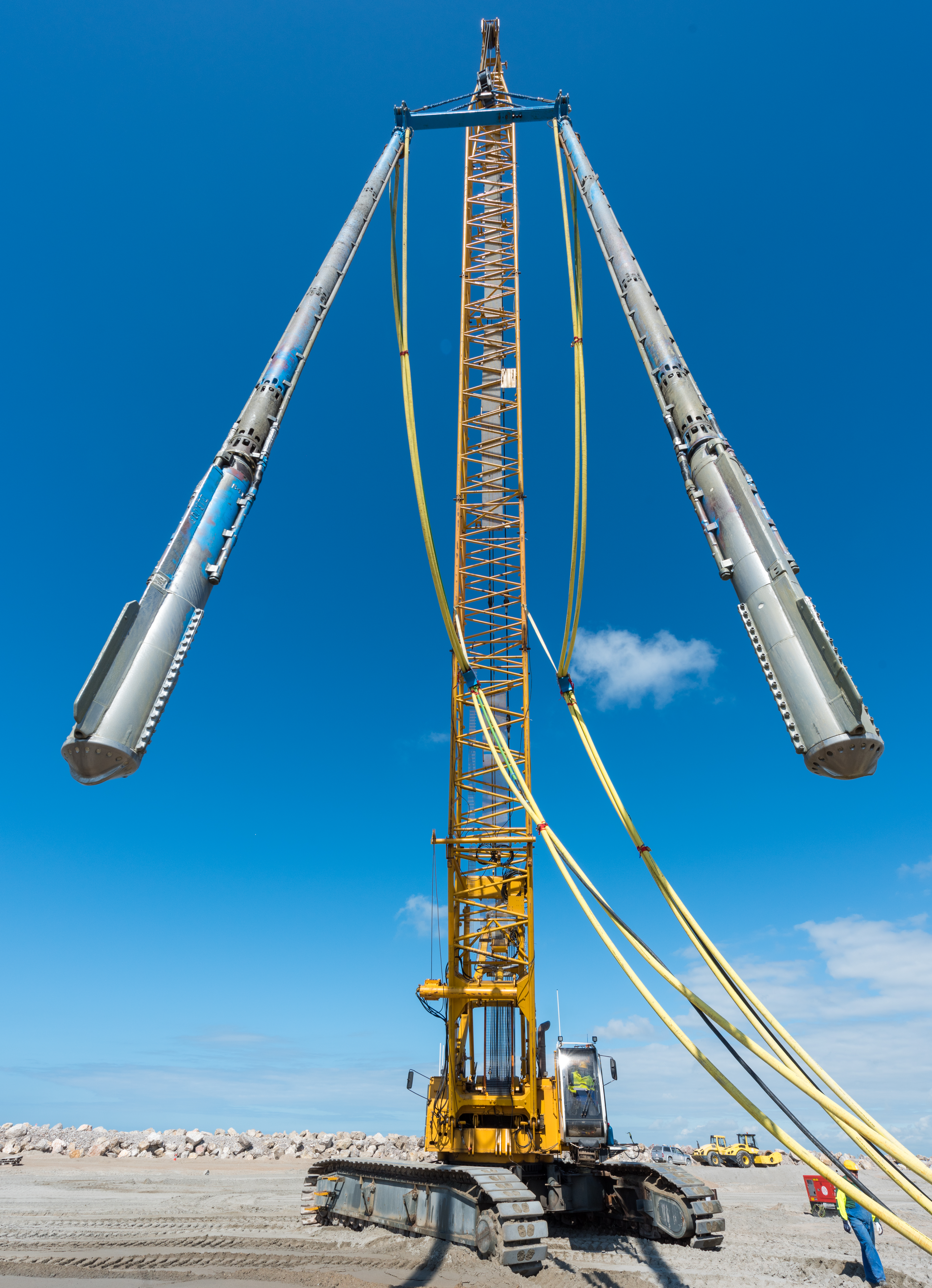 Tandem Rig - wide angle view